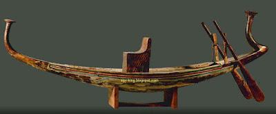 Tutankhamun's Model Boat