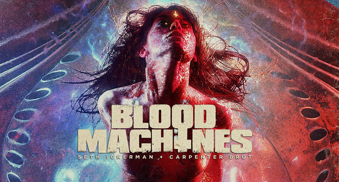 Blood Machines 2019 póster