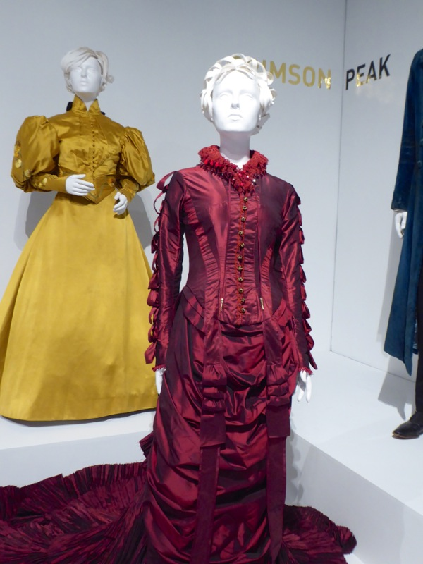 Lucille Sharpe Crimson Peak movie costume