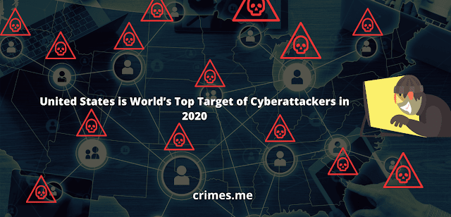 US World's Top Target of Cyberattackers in 2020