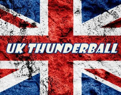 Bet on the UK Thunderball with Lucky Numbers at Hollywoodbets - Lotto Draw - UK Flag