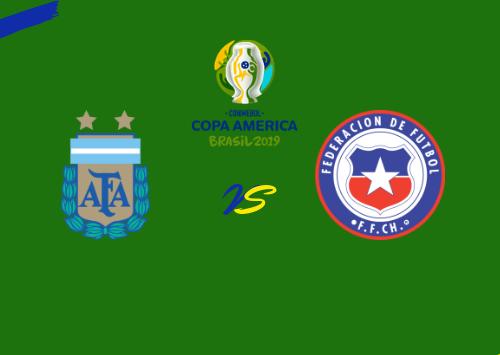 Argentina vs Chile  Resumen & Partido Completo
