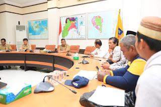 Wali Kota Tarakan Menerima Kunjungan Silaturahmi Forum Komunikasi Pengawas Masyarakat Nelayan - Tarakan Info