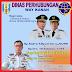 Dishub Way Kanan mengucapkan selamat Atas Dilantikanya Bp.Raden Adipati Surya-Ali Rahman Sebagai Bupati/Wabup Way Kanan