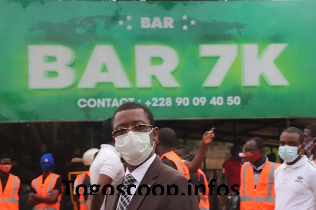 Descente inopinée dans les bars d'Avedji : Le zélé maire Kossi ABOKA dans ses œuvres