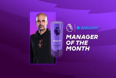 جوارديولا أفضل مدرب فى الدوري الإنجليزي خلال شهر فبراير