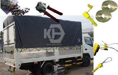 niêm phong xe tải bạt