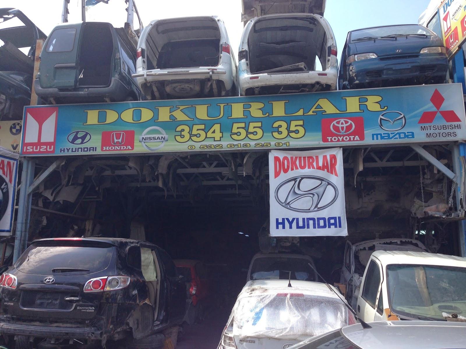 Dokurlar Hyundaİ 199 Ikma Yedek Par 199 A Ankara
