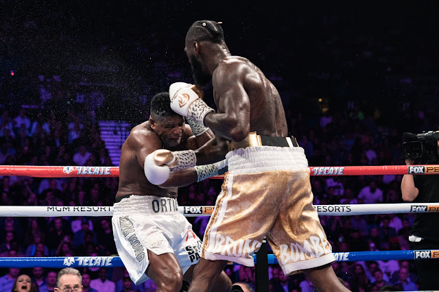 Deontay Wilder Stops Luis Ortiz In Rematch