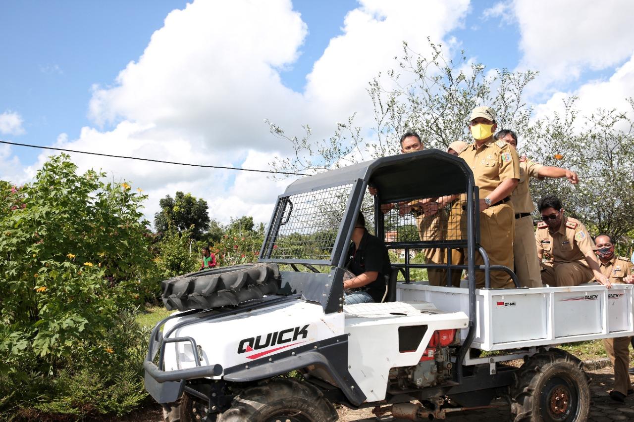 Gubernur Arinal Kembangkan Agro Park dengan Tanaman Langka Hadiah Kehormatan PT. Petrokimia Gresik