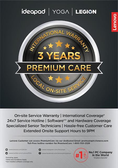 Lenovo unveils 3-Year Premium Care Service