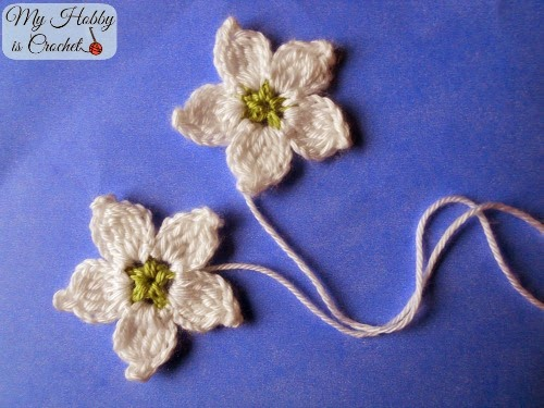 Blackberry Flower - Free Crochet Pattern