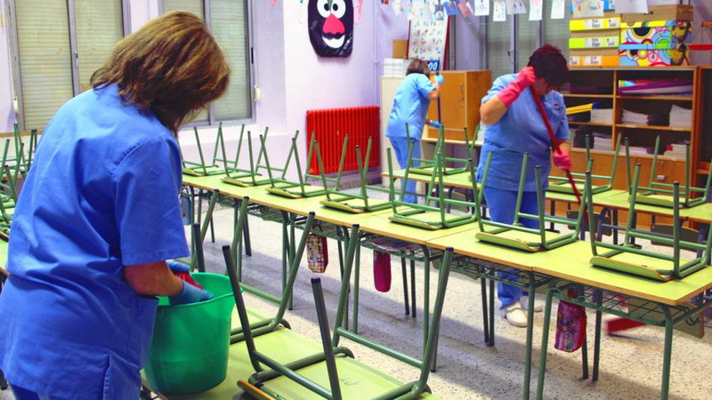Αλεξανδρούπολη: Προβλήματα με το προσωπικό καθαριότητας των σχολείων