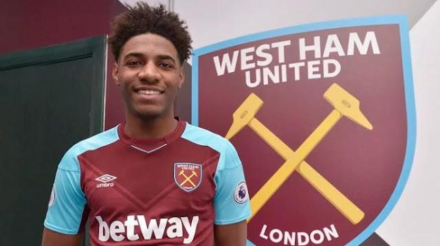 Transfer News! Premier League Club West Ham Sign Nigerian Striker Oladapo Afolayan