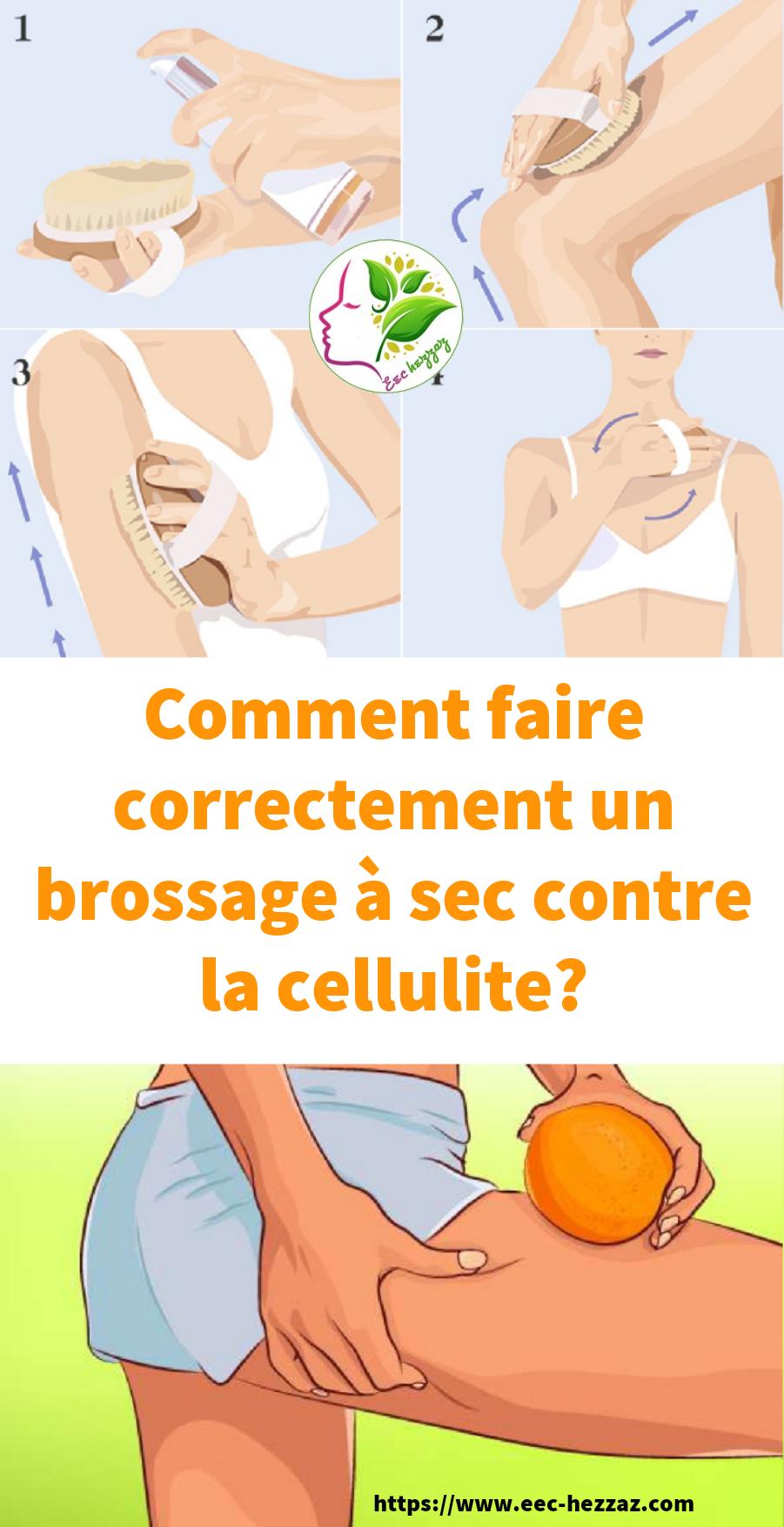 Comment faire correctement un brossage à sec contre la cellulite?