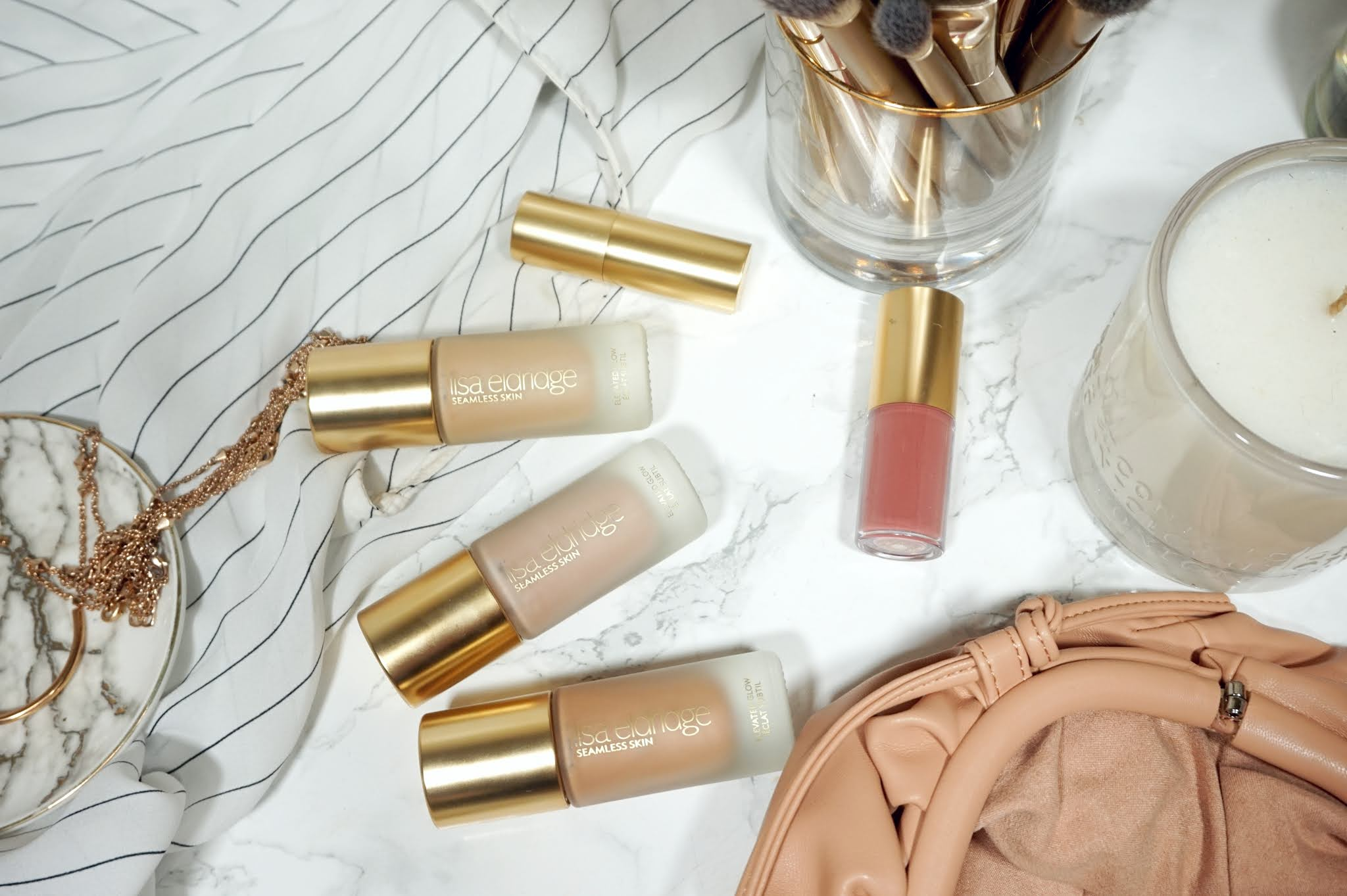 Lisa Eldridge Elevated Glow Highlighter Review and Swatches