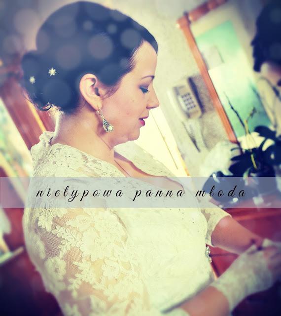 nietypowa panna młoda - jak szyłam sobie suknię ślubną