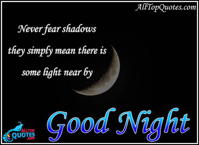 English Best Good Night Inspirational Quotations And Images All