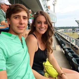 Carlos Ortiz With His Wife Haley Thompson Ortiz