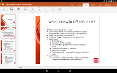 تطبيق الاوفيس الشهير للاندرويد OfficeSuite + PDF Editor Premium