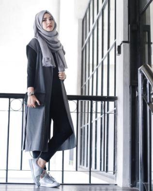 Gaya hijab modern