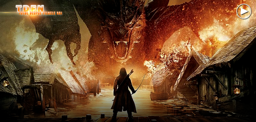 THE HOBBIT: THE BATTLE OF THE FIVE ARMIES, Primul Trailer Fantastic Cu Concluzia Epică A Trilogiei