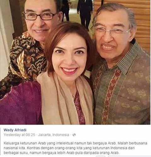 Najwa Shihab Ditanya Apakah Bapaknya Bersaudara Dengan Rizieq Shihab Kaskus