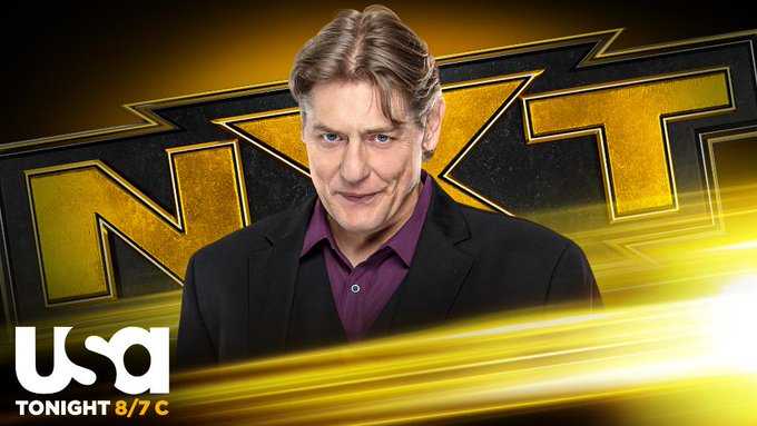 William Regal fará grande anúncio no WWE NXT desta noite
