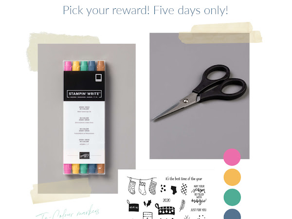 Five days only! Pick your own reward!