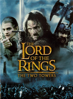 Poster Of The Lord of the Rings The Two Towers (2002) Full Movie Hindi Dubbed Free Download Watch Online At worldfree4u.com