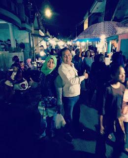 Erdik dan Istri di Kelapa Sawit Expo 2018