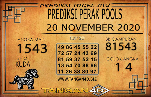 PREDIKSI TOGEL PERAK TANGAN4D 20 NOVEMBER 2020