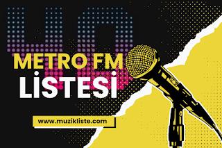 Metro Fm Top 40 Listesi