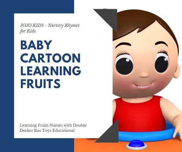 preschool kids: Learn Fruits Names for Children   Baby