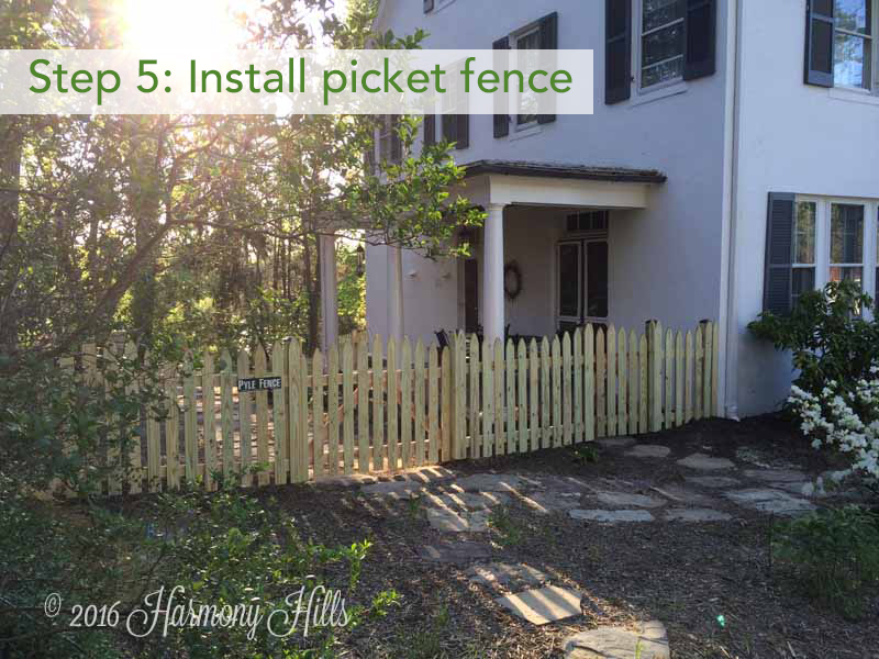 How we totally transformed our side yard harmony hills home and though the transformation has been totally diy before i got too far planting things i wanted to get the fence painted it took me a few sessions to sciox Images
