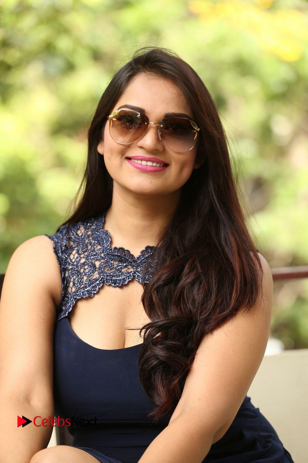 Actress Ashwini Pictures in Short Dress at Vinodam 100 Percent Press Meet  0333.JPG
