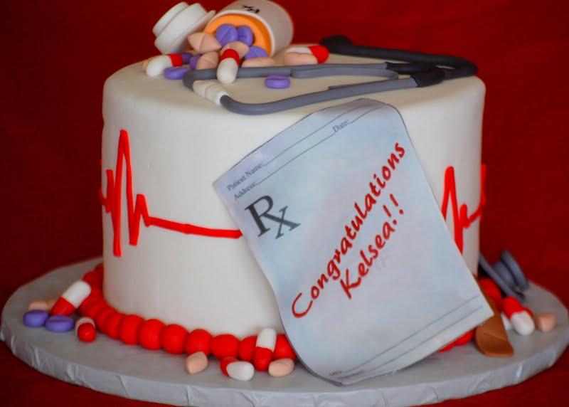 Cakefilley Nursing School Graduation Cake