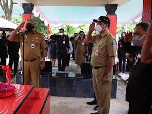 Olly-Steven Maraton Lakukan Ziarah ke Makam Mantan Gubernur dan Wagub Sulut