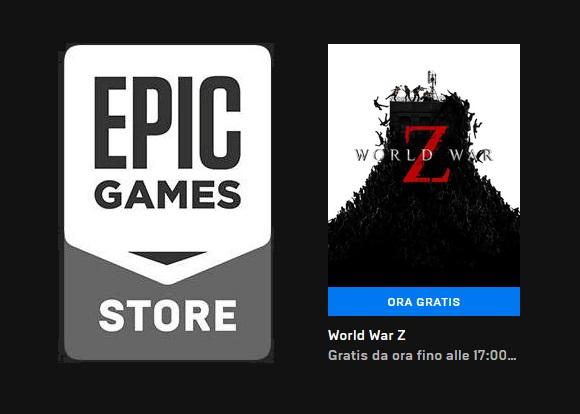 Epic Game regala World War Z