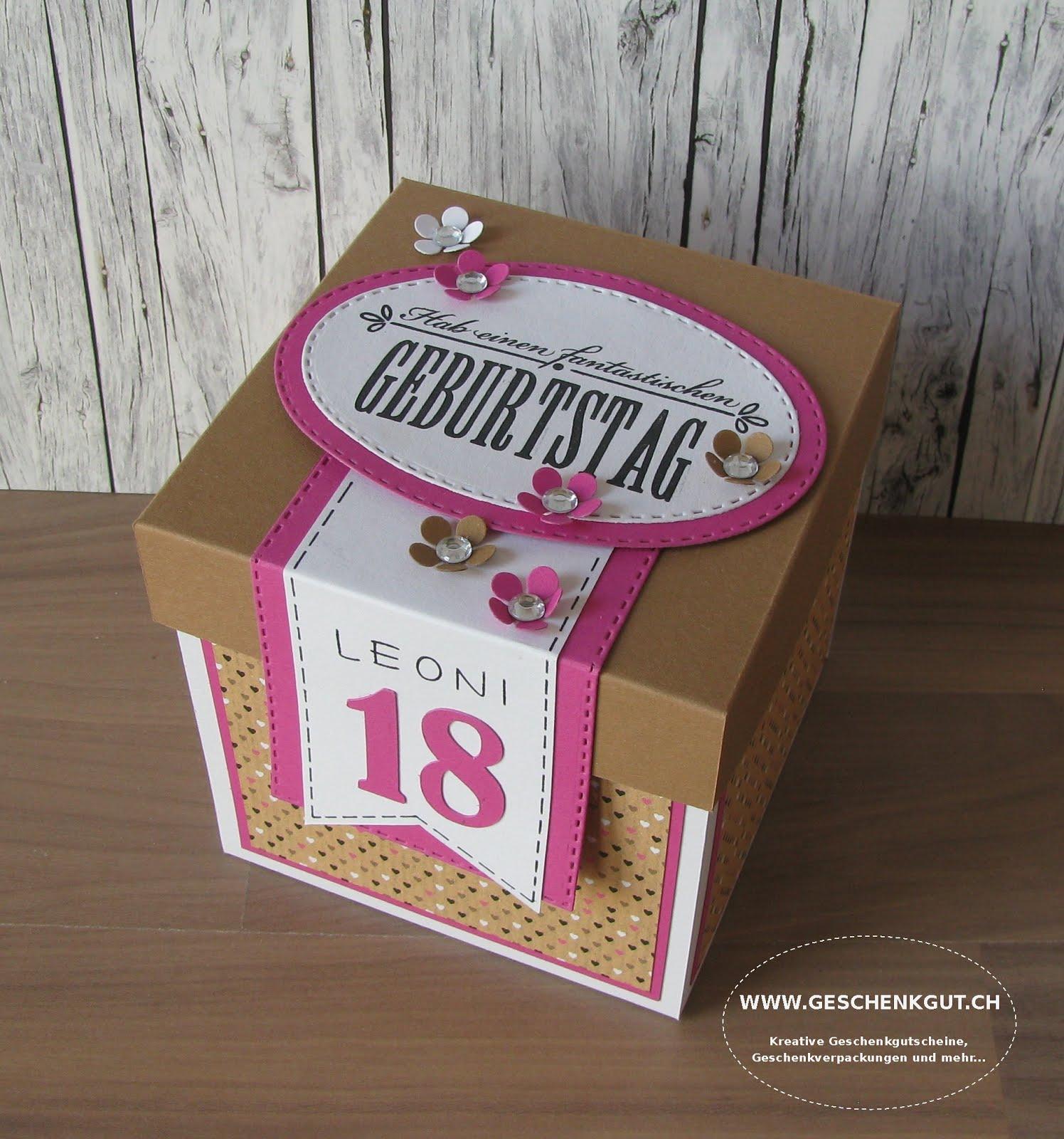 Kreativ verpacken konzertkarten Geschenke verpacken