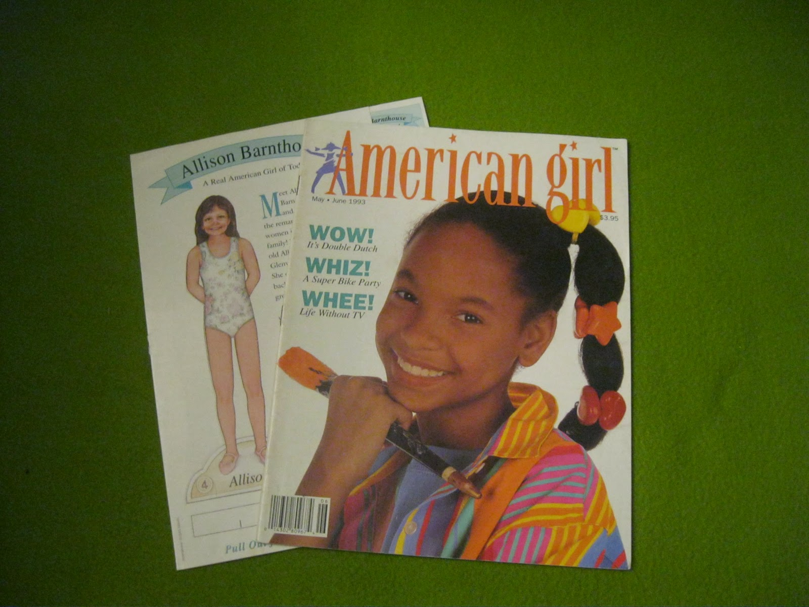 American Girl Outsider Magazine Monthly Mayjune 1993-6792