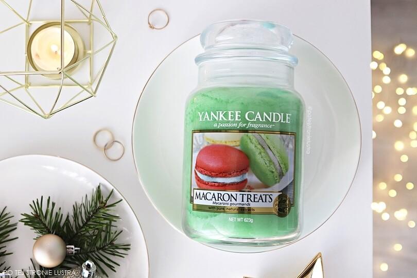 yankee candle macaron treats duża świeca zapachowa