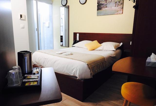 Massilia Hotel em Marselha - quarto