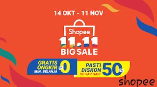 Goyang shopee big sale 11.11