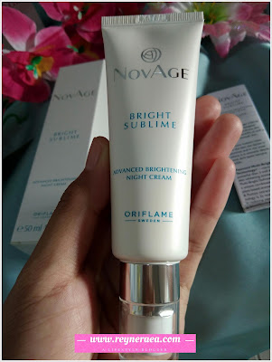 NovAge Bright Sublime Advanced Brightening Night Cream SPF20