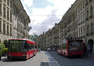 Elektrisch fahren durch Hamburg