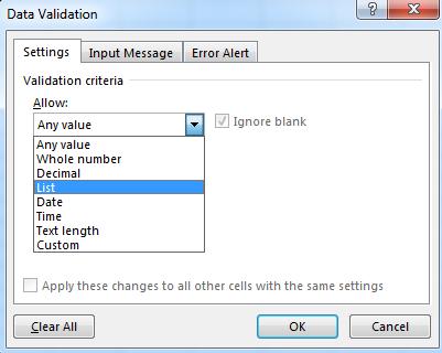 Mengenal jenis-jenis validasi pada aplikasi excel | belajar ...