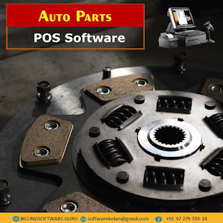 Auto Parts Inventory Management Software with Accounting Billing N Barcoding Ready to Download