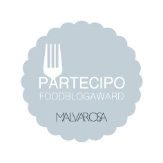 MEDITERRANEAN FOOD BLOG AWARD 2016