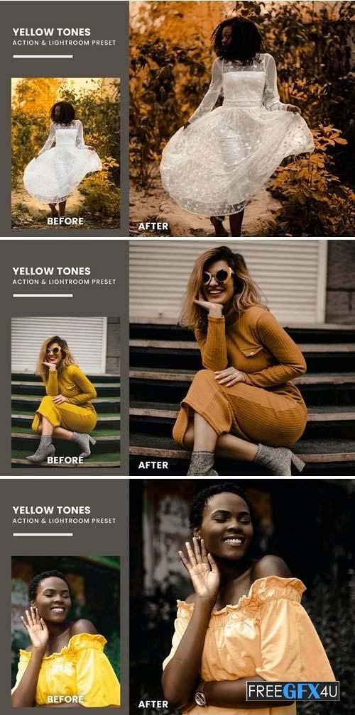 Yellow Tones Lightroom Presets
